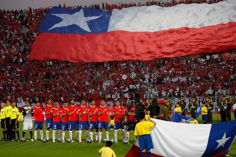 FUTBOL, CHILE VS PARAGUAY
