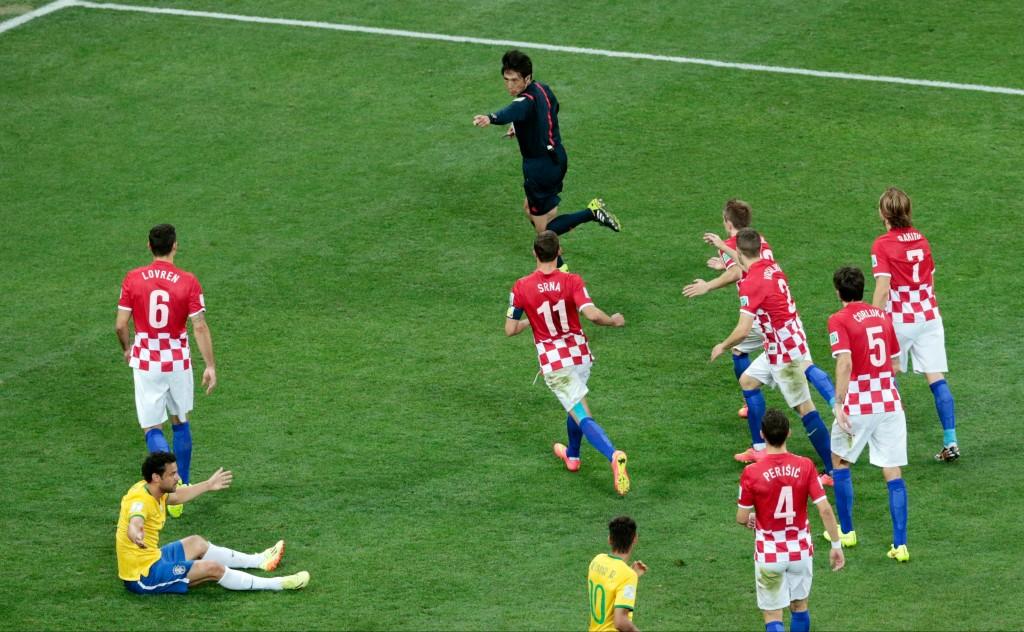 Penal za Brazil protiv Hrvatske