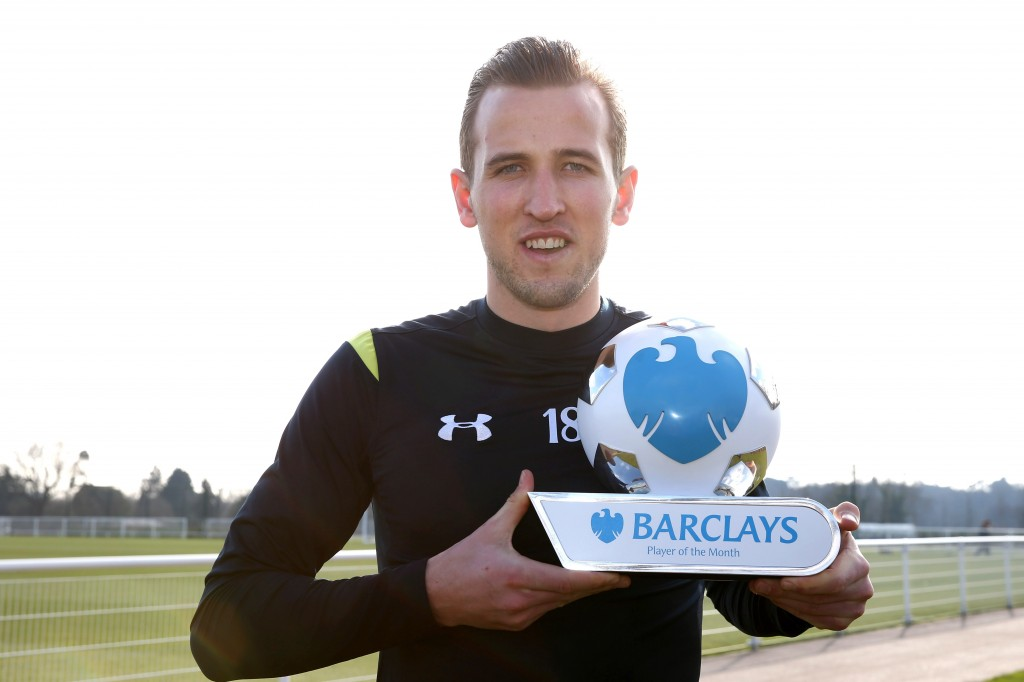 Barclays POTM Harry Kane
