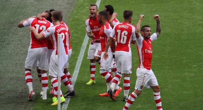 Arsenalu trofej u 'FA' Kupu